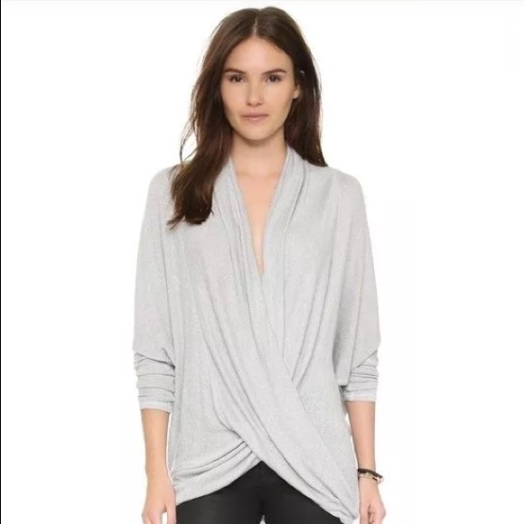0dfb14ff6987 Free People Draped Sheila Hacci Twist Front Top S